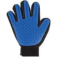 Hommii 2-in-1 Tierhaar Gummi Handschuh Entferner, Blue