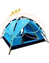 CAMEL Tienda Instantánea de Campaña de Apertura Automático Hidráulica UV Protección Playa Camping al Aire Libre