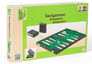 Natural GamesBackgammon Kunstleder 37x23 cm, 1 Stück