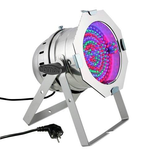 Cameo Light CLP64RGB10PS 183 x 10mm LED RGB PAR Scheinwerfer in poliertem - Die Intensität Uv-lampe