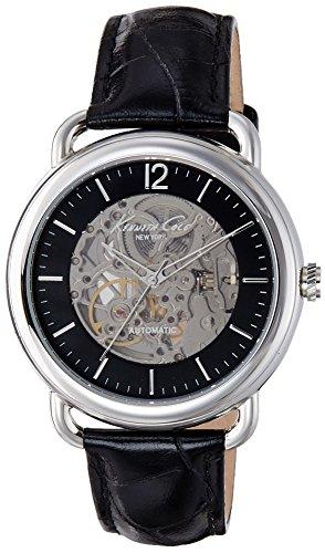 Kenneth Cole ikc8017–montre avec bracelet en Acier pour homme, Couleur Noir/Gris