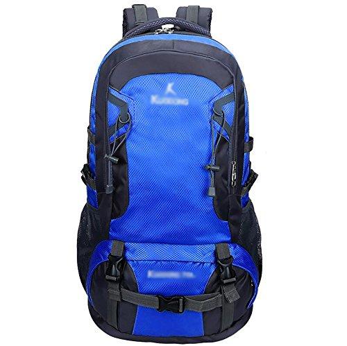 HWLXBB Outdoor Bergsteigen Tasche und Frauen 70L Wasserdichte Mehrzweck-Bergsteigen Tasche Wandern Camping Bergsteigen Rucksack 1*