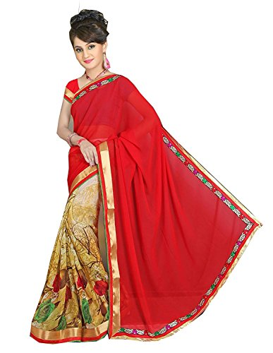 Mansi Tex - Women Crepe Chiffon Saree ( ZZ-C-8 __Free Size)...[ Printed sarees with lovely print and Blouse Women's Clothing Latest Designe and workwear Ceremony Sari New Collection Multi Coloured Art silk Material Half Saree Lehenga Sadi for With Designer Blouse Free Size Beautiful Bollywood For Party Wear Offer georgette Cotton & Crush Velvet & Net Sadi Buy Online Today Offers Sale women cocktai