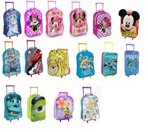 Image of Monsters University Inc Disney Pixar Kids Trolley Bag