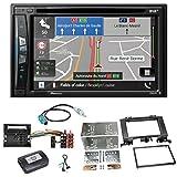 Pioneer AVIC-Z710DAB Navigation Digitalradio CarPlay Bluetooth USB DAB+ CD DVD MP3 Einbauset für Mercedes Sprinter W906 Crafter