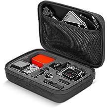 Neewer - Bolsa portátil, a prueba de choques, para GoPro Hero 4 Session/4/3 + / 3/2/1, SJ4000/5000/6000/7000 cámara y accesorios, color negro