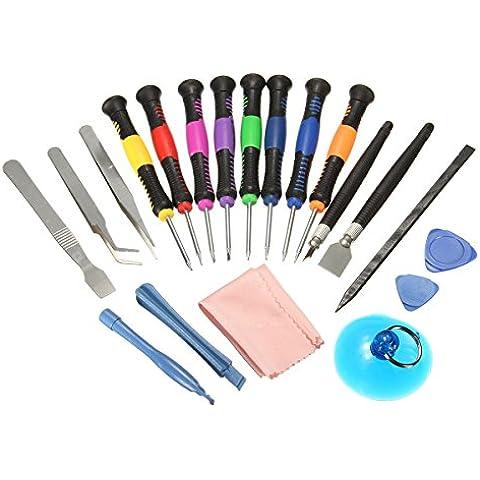 20 in 1 Repair Tools Cacciavites Kit Per iPhone 6/6S/5/4S/4 iPad Blackberry (20 In 1 Kit)