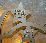Schlummerlicht24 Babygeschenke personalisiert persönlich Taufgeschenk Nachtlicht Mond Teddy mit Name Baby Mädchen Junge - 4