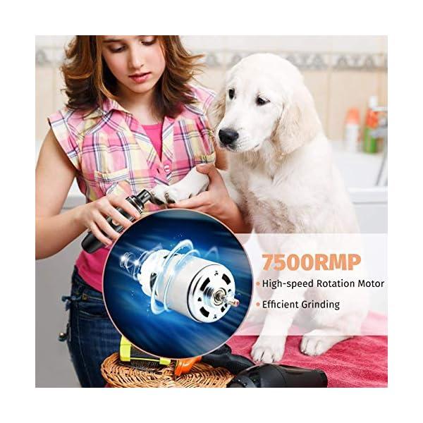 OMORC Electric Dog Nail Grinder 5