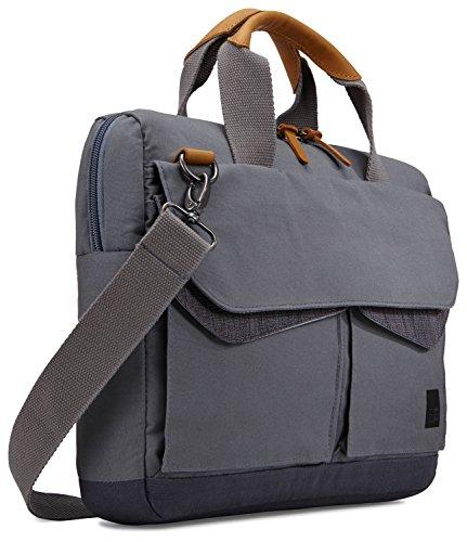 Case Logic LoDo Attache Tasche für Notebooks bis 35,6 cm (14 Zoll) Graphite Grey - Grau Laptop Attache