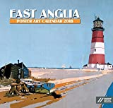 The East Anglia Poster Art calendar for 2018 is sure to appeal to lovers of this very beautiful part of Britain! Monthly railway poster art can be found throughout the calendar along with spacious date lists for all your daily commitments. Includes p...