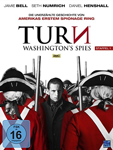 Acht Kostüm Menschen - Turn - Washington's Spies Staffel 1 [AMC] (Episode 1-10 im 4 Disc Set)