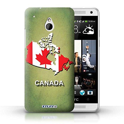 Kobalt® Imprimé Etui / Coque pour HTC One/1 Mini / grande-Bretagne conception / Série Drapeau Pays Canada