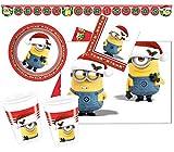 Procos 10115651 Partyset Minions Christmas, XL