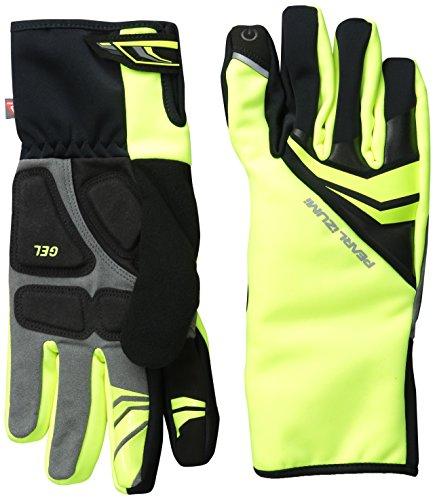 Pearl Izumi Herren Elite Softshell Gel Handschuhe L Screaming Yellow (Pearl Nylon-handschuhe Izumi)