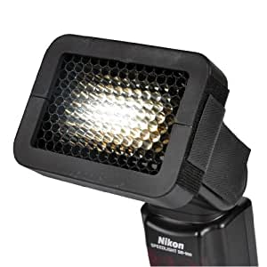 Opteka OSG14 1/4-Inch Universal Honeycomb Speed Grid for External Camera Flashes