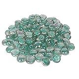 #5: Decorative Multi Color Glass Stone/ Pebbles For Home Decoration And Aquarium By Jainsons (TURKISH BLUE)