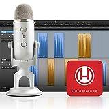 Blue Yeti Silver + Hindenburg Journalist Software Podcaster Bundle
