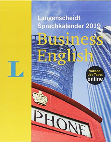 Langenscheidt Sprachkalender 2019 Business English - Abreißkalender