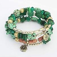 amilses Multi Layer Resin Beads Bracelet Charm Elegant Bangles Women Fashion Jewelry Bracelets