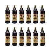 12er Vorteilspaket Heiligenpergl 2017 Südtirol Rotwein Italien Literflasche trocken (12x 1 l)