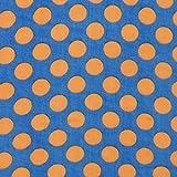 Fabulous Fabrics Chiffon Druck Punkte (15mm) 5 –