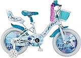 Altec Eisfee Mädchenrad Weiß-Türkis 16 Zoll