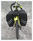 Best Rear Bike Rack - Golden Riders Cycle Rear Wheel Touring Saddlebags Review