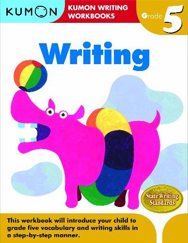 Writing, Grade 5 (Kumon Writing Workbooks)
