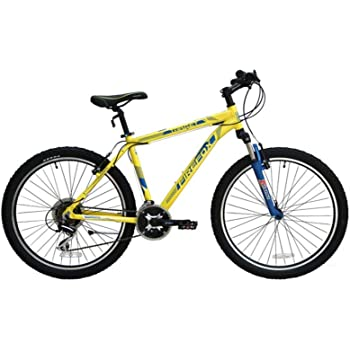1c92a780b39 Buy FIRE FOX Target Alloy Hardtail MTB Frame 21 Speed Cycle (Yellow ...