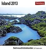 Island 2013: Sehnsuchts-Kalender. 53 heraustrennbare Farbpostkarten -