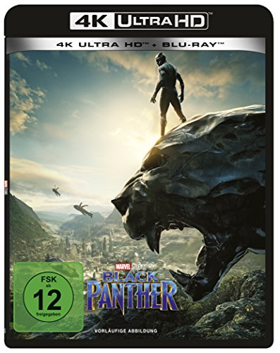 Black Panther - Ultra HD Blu-ray [4k + Blu-ray Disc]