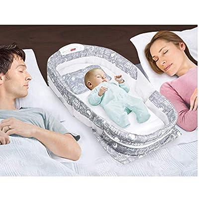 VISTANIA Cama de Viaje del bebé, Cama portátil del bebé del Mosquito, Cuna de Viaje Plegable del bebé, cunas Plegables del bebé recién Nacido