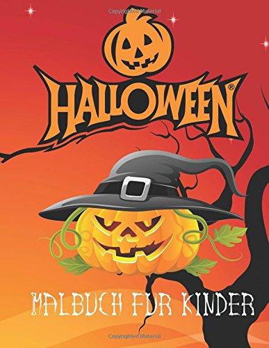 r kinder: Halloween Malbuch für Kinder im Alter von 3. Eine A4 Seite 60 spooky Buch für Kinder zu Farbe (Farbe Halloween Crafts)