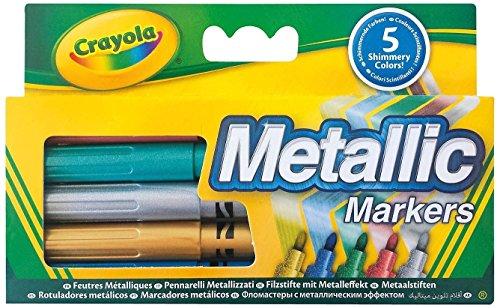 Crayola–58–5054-e-000–5Filzstifte metallischen