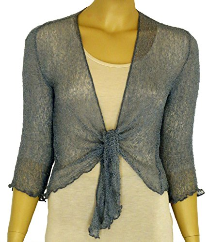 ladies-plain-knitted-cropped-tie-up-bolero-shrug-top-massive-range-of-colours-fit-all-sizes-gun-meta