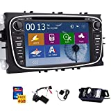Win8 UI-Touchscreen GPS-Navigation Autoradio DVD-Player Stereoanlage f¨¹r Ford Focus Mondeo S-max Galaxy mit CANBUS NAVI BT M