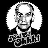 Pixda T-shirt Louis de Funès ::: Non! Si! Ohhh! ::: Couleur: rouge foncé, vert olive, bleu marine ou noir ::: Tailles: S-XXL