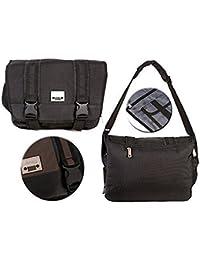 808d75b60e Jeep Laptop Messenger Unisex School College Journey Courier Shoulder Bag  Black