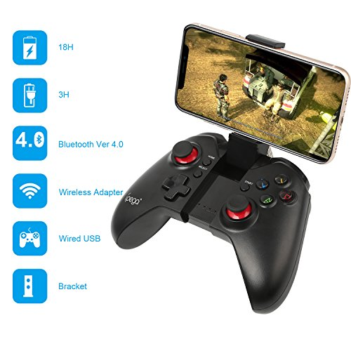 PowerLead 9037 Bluetooth 3.0 Wireless Game Controller Joystick für iPhone 5S 5C 6 Plus Samsung S5 S4 Hinweis 4 5 Tablet PC (S5-gaming-controller Galaxy)