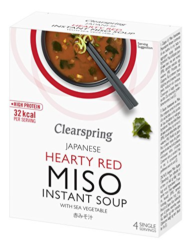 Clearspring - Instant Miso Soup - Hearty Red with Sea Vegetable - 40g