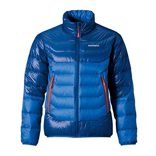 Shimano Down Jacket Blue Gr. L Daunenjacke