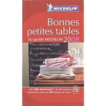 Bonnes petites tables du guide Michelin