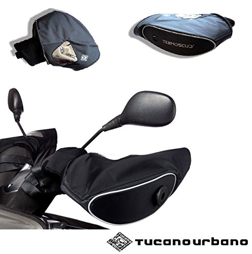 Neoprene Tucano Urbano R333Lenkerstulpen für Yamaha FZ8mit Windschild