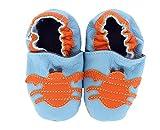 HEBA-Germany–Zapatos para gatear de cangrejo azul azul claro...