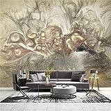 3d tapete für wohnzimmer moderne tapete hintergrund wandbild seidenpapier abstrakte kunst hand gezeichnete skizze, 350 * 245 cm