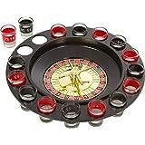 Vp Divinext Shot Glass Roulette - Drinking Game Set (2 Balls And 16 Glasses) - Multi