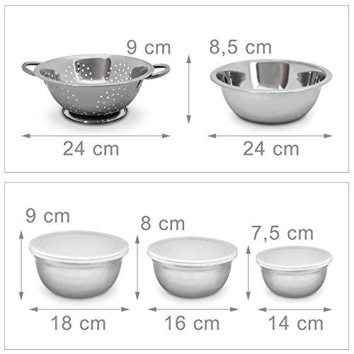 relaxdays-schuessel-set-aus-edelstahl-hxbxt-10-x-24-x-30-cm-5-teilig-stapelbar-kuechensieb-frischhaltedose-silber-4