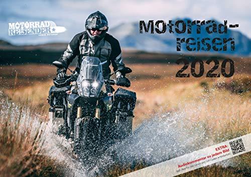 Motorradreisen 2020 Wandkalender von Erik Peters - Mit Audiokommentar zu jedem Bild