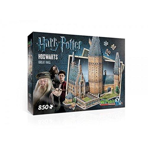 Wrebbit 3D - Puzzle 3D Harry Potter - Grande Salle 850 Pièces - 0665541020148